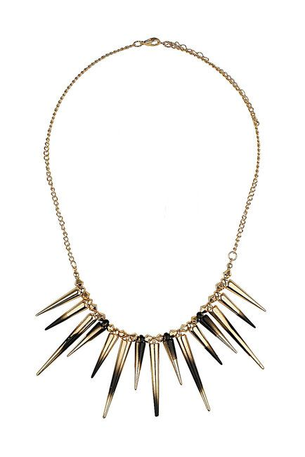 Topshop Dip Dye Spike Necklace 6-28-12 @DemiLovato