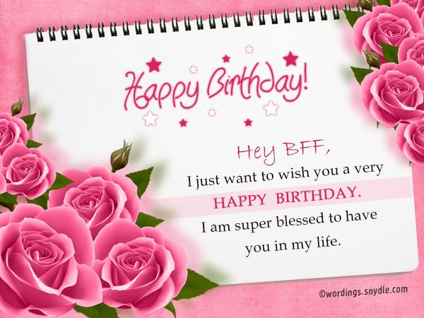 Image Title With Images Happy Birthday Bestie Cute Happy