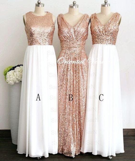 Kleid chiffon rose