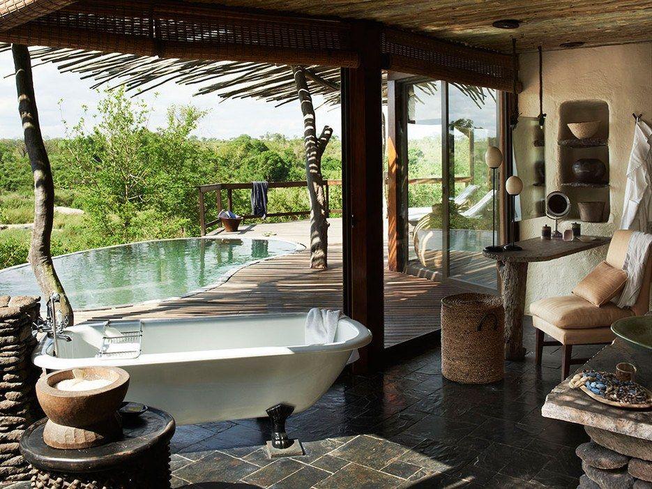 top 25 resorts  safari camps in africa readers' choice