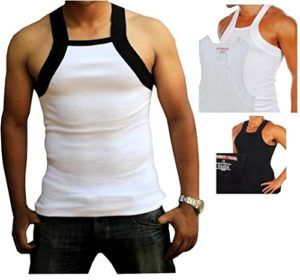 G-Unit Style Square Cut Undershirt Underwear Tank Top Wife Beater Mens tank top