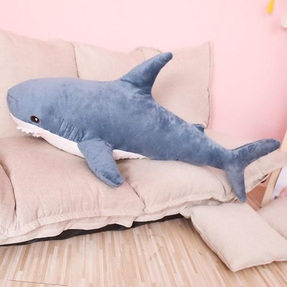 Toys & Hobbies Hot Sale High Quality 70cm 100% Pp Cotton Shark Plush Stuffed Pillow Toy Doll Stuffed Plush Animals Birthday Gifts For Children Stuffed & Plush Animals