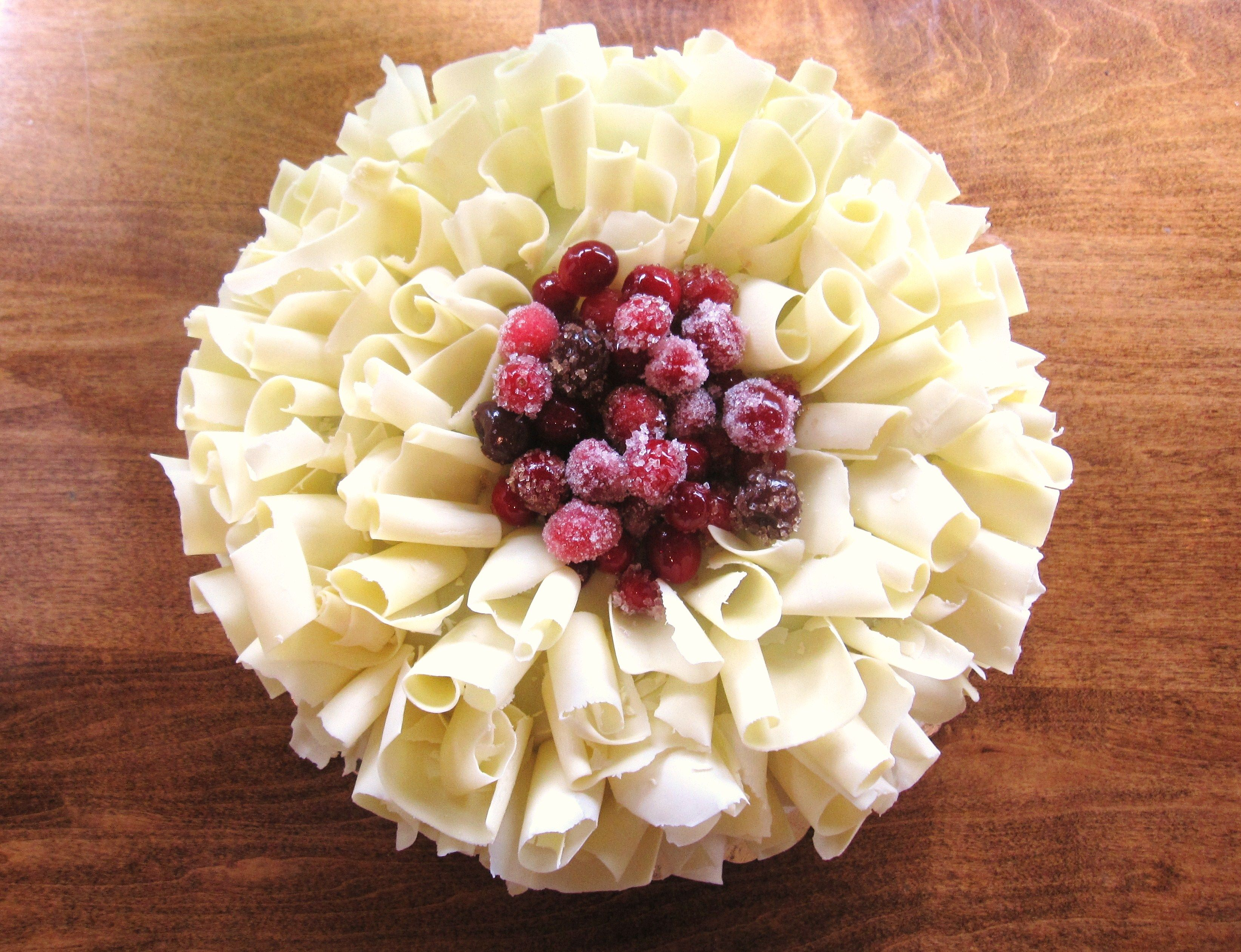 White Chocolate Cranberry Cake | Decadently Delish: Part III...Intric ...