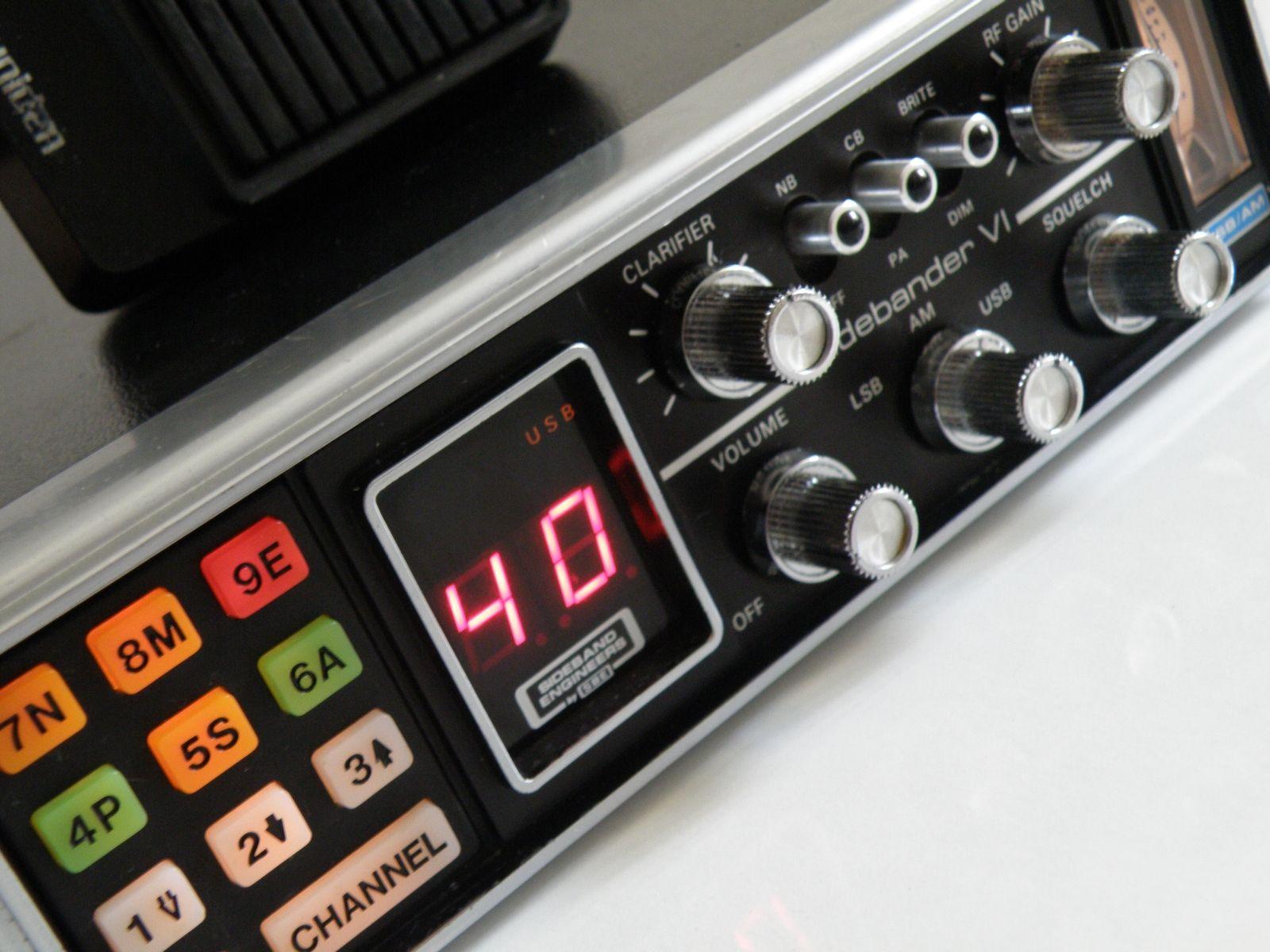 Sbe Sidebander Vi 40 Channel Hf Cb Radio Radios 27mhz Am Lsb Receiver Circuit