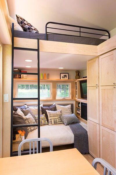 Just Wish There Were Stairs Instead Of A Ladder. One Of Our Favorite Designs  Just Got Even Tinier   The ESCAPE Traveler   Tiny House For UsTiny House For  Us