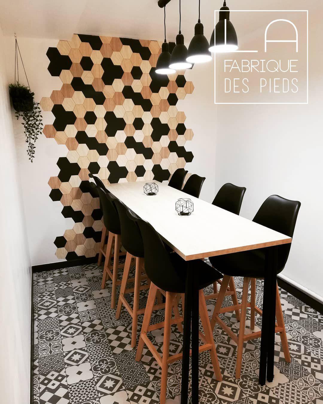Pied Ilot Central 90 Cm Carre En 2020 Pied De Table Haute Table Haute Couleur Salon