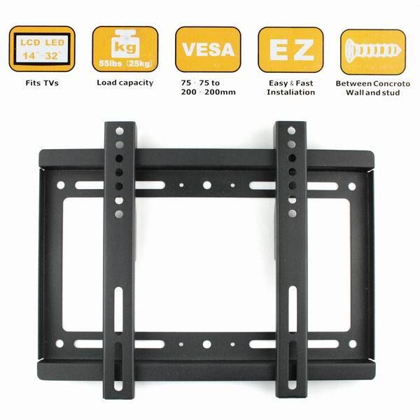 "New Wall Mount for 14""-32"" Flat Panel Screen LCD/Plasma TV Monitor on AliExpress.com"