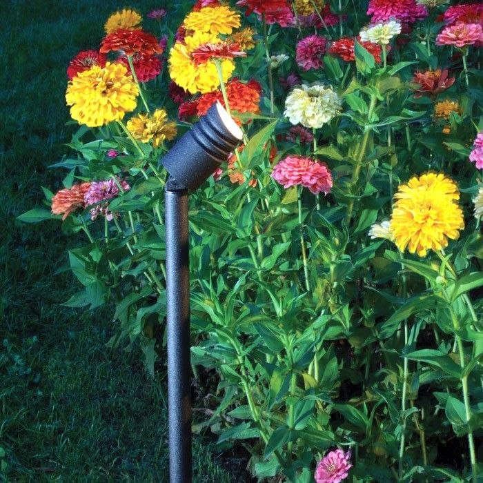DIY Garden LED Landscape Spotlight - high light output, multiple positioning, incredible efficiency and versatility of use.