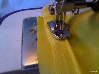 coser es fácil...: colocar una cremallera invisible