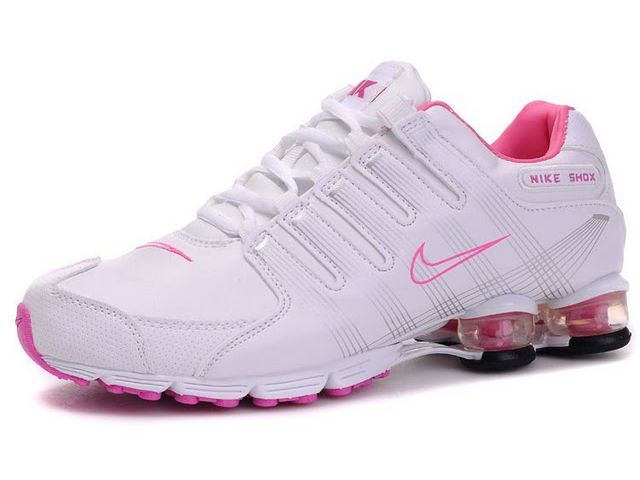 best sneakers f7ed4 f7f16 Chaussures Nike Shox R4 Blanc  Rose  nike 12234  - €50.92   Nike Chaussure  Pas Cher,Nike Blazer and Timerland www.facebook.com .