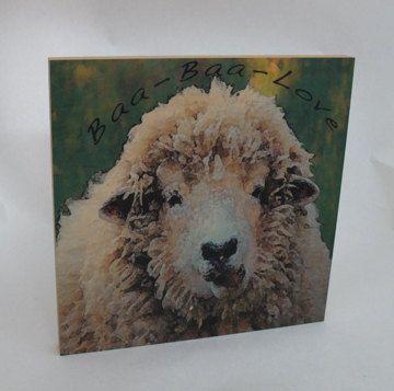 4H FFA Baa Baa Love wooly sheep graphic photography by ThePhotoHog