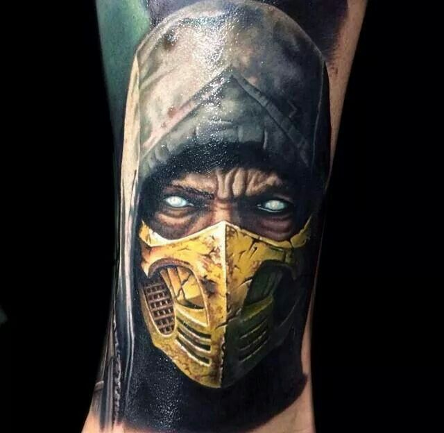 Mortal Kombat Tattoo Tattoos Tatuagem Arte Arte border=