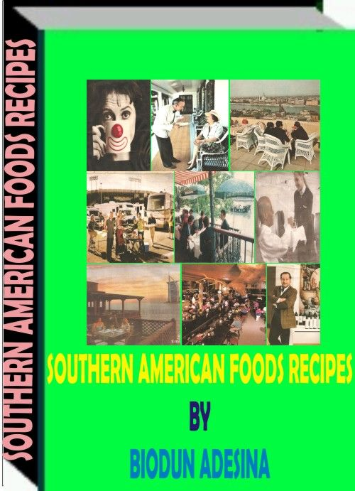 The ebook is a compedium of several  Southern American foods and delicasies that are very nutritious and tasty-http://fiverr.com/users/xorenxo/manage_gigs