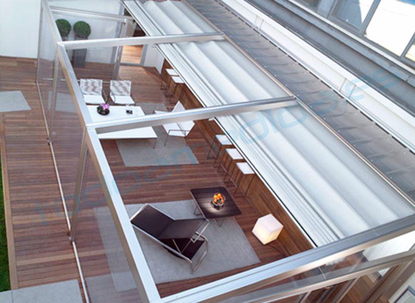 Toldos fijos para exteriores buscar con google for Techos para patios exteriores
