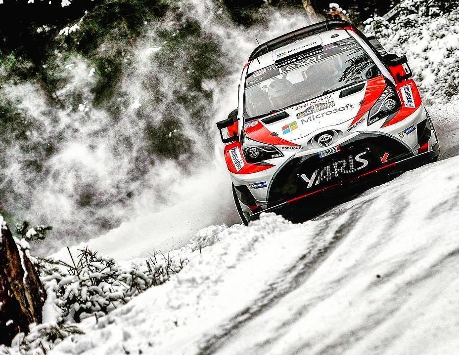 from tgr_wrc Rally Sweden Shakedown Instagram, Sports