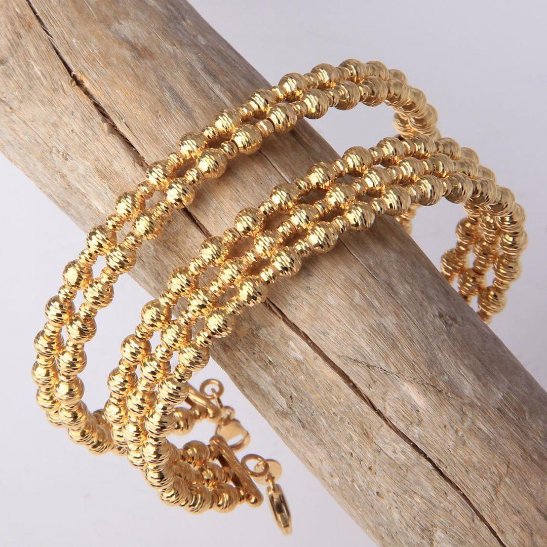 اساور بر اقة من ماسة دوريكا كولكشن ذهب صافي عيار ٢١ يوجد شحن الى جميع انحاء العالم للطلب و التسعير او الأستفسار يرجى Gold Bracelet Gold Jewelry