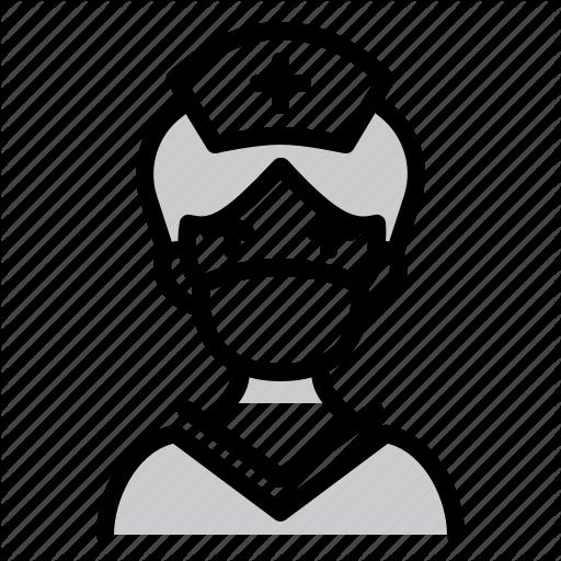 Doctor Healthcare Male Nurse Mask Nurse Icon Download On Iconfinder Male Nurse Icon Corona