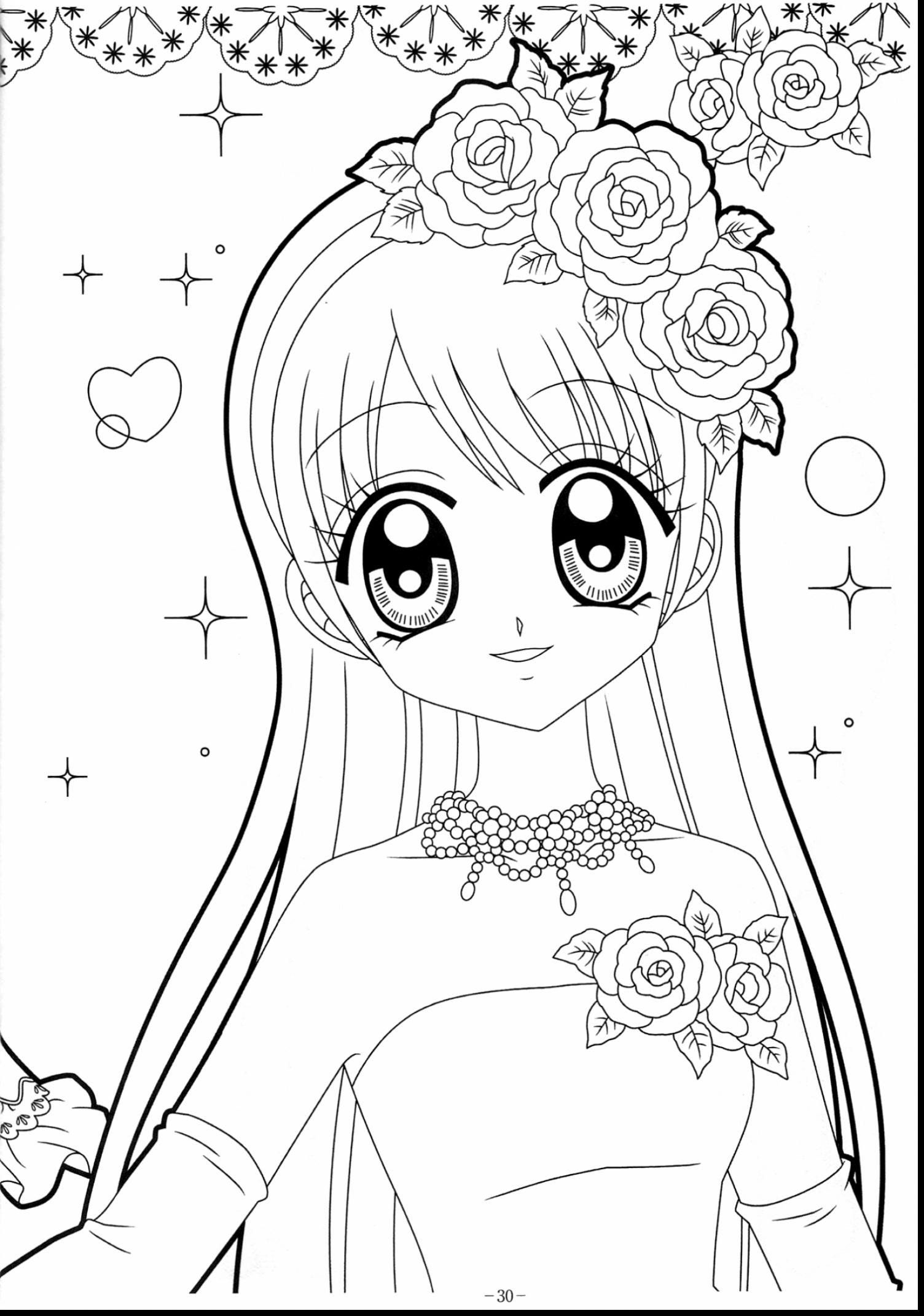 Cute Kawaii Girl Coloring Pages Coloring Book Kawaiiloring Pages To Print Picture Ideas Mermaid Coloring Pages Cute Coloring Pages Coloring Pages For Girls