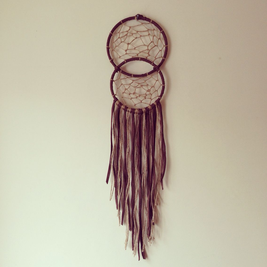 How Are Dream Catchers Made Soul connecting dream catcher made from jute twine and brown 18