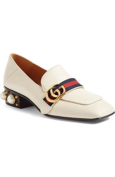 df46e914ea1 Gucci Peyton Embellished Heel Loafer (Women) available at  Nordstrom ...