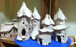 from the shed: Pretty Fairy Houses
