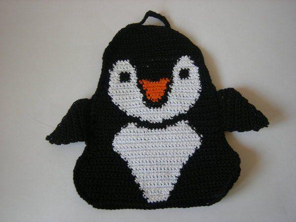 Häkelanleitung Topflappen Eisbär Pinguin Topflappen Häkeln