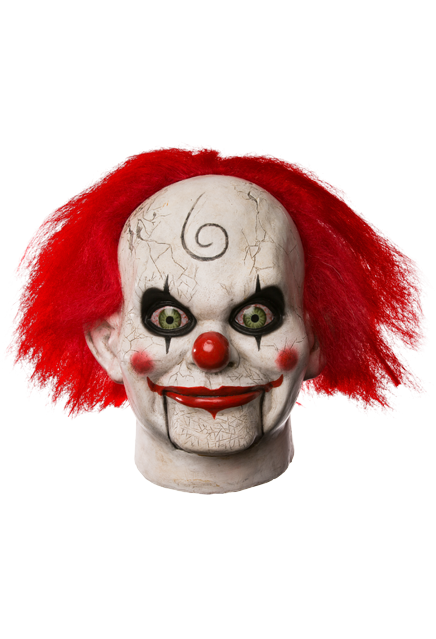Dead Silence Mary Shaw Clown Mask Clown Mask Animated Halloween Props Scary Halloween Masks