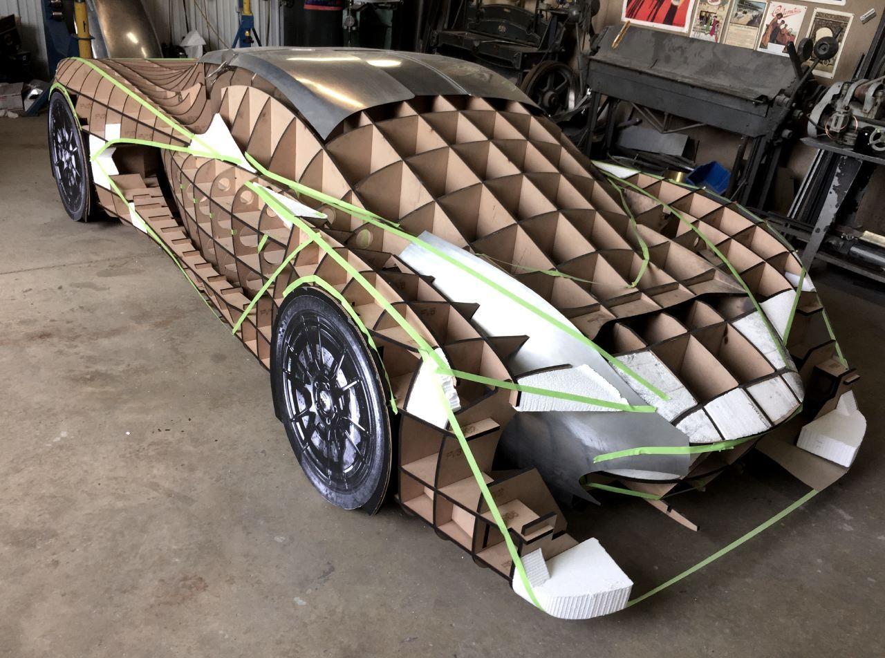 Designer Follows Passions And Dreams To Build His Own Supercar Super Cars Concept Car Design Automotive Design