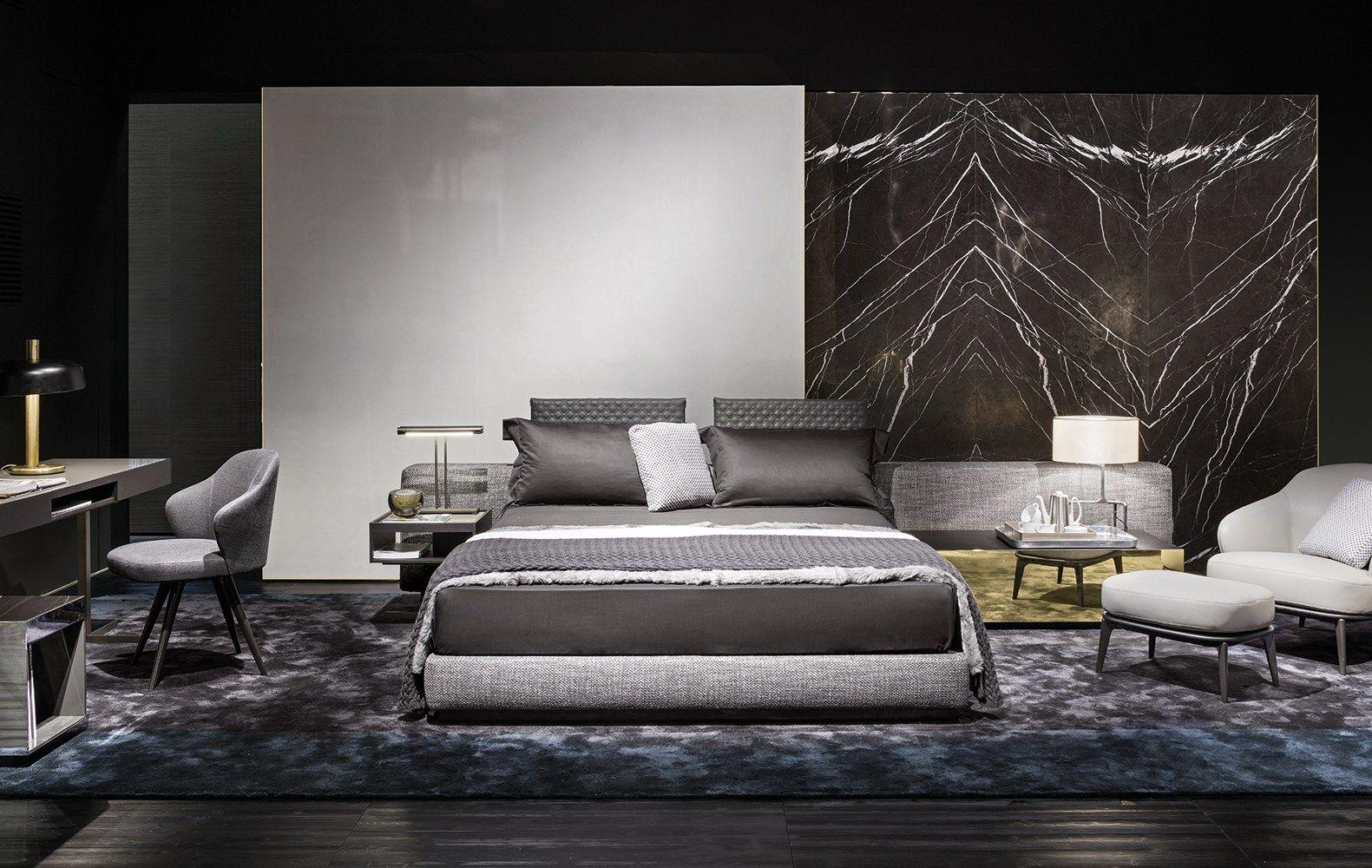 Best Cama Yang Bed Wide By Minotti Diseño Rodolfo Dordoni 400 x 300