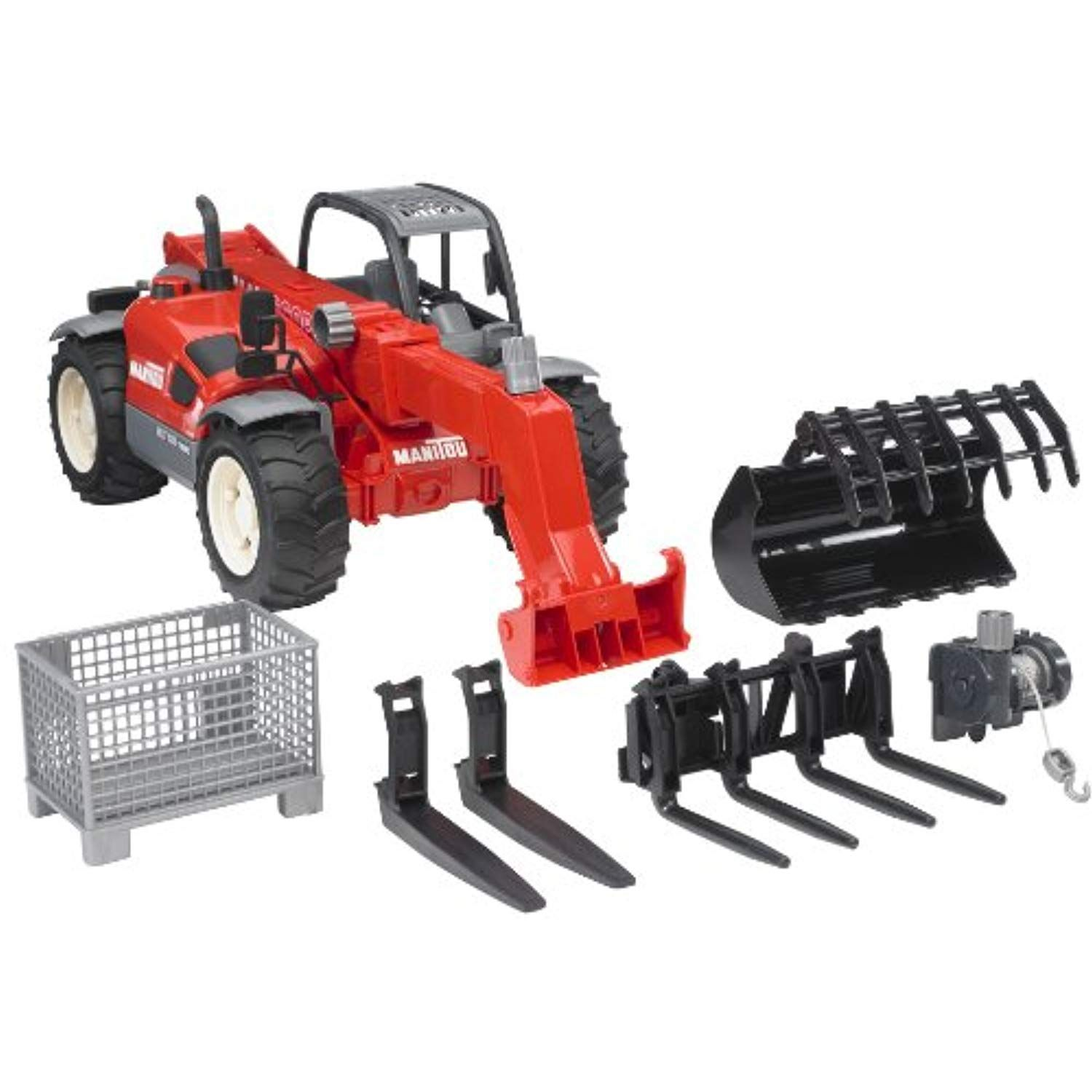 Bruder Toys Manitou Telescopic Loader Mlt 633 With Accessories Click Image To Review More Details This Is An Affiliate L Best Kids Toys Play Vehicles Toys