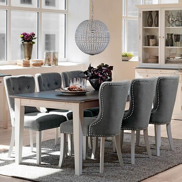 White Extending Dining Table