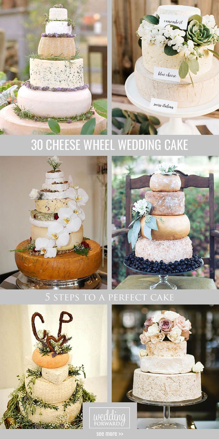 5 Steps To A Perfect Cheese Wheel Wedding Cake Cakes Pinterest And