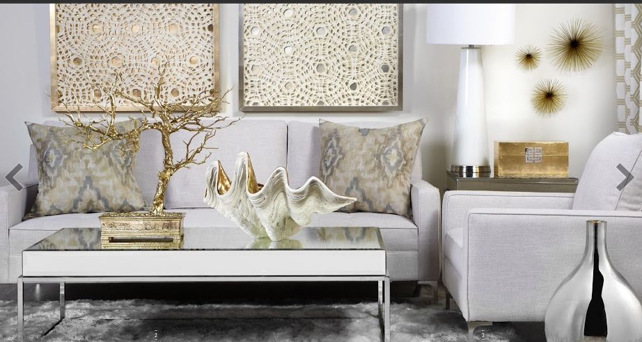 Add A Little Bling With Zgallerie Home Accessories Finds For Spring From Karen Davis Design The Adventures Silver Living Room Gold Living Room Living Decor #silver #accessories #for #living #room
