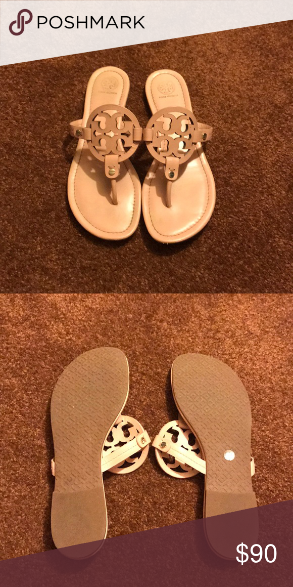 2a7c4b2e521f Tory Burch millers Clay pink miller sandals worn twice Tory Burch Shoes  Sandals