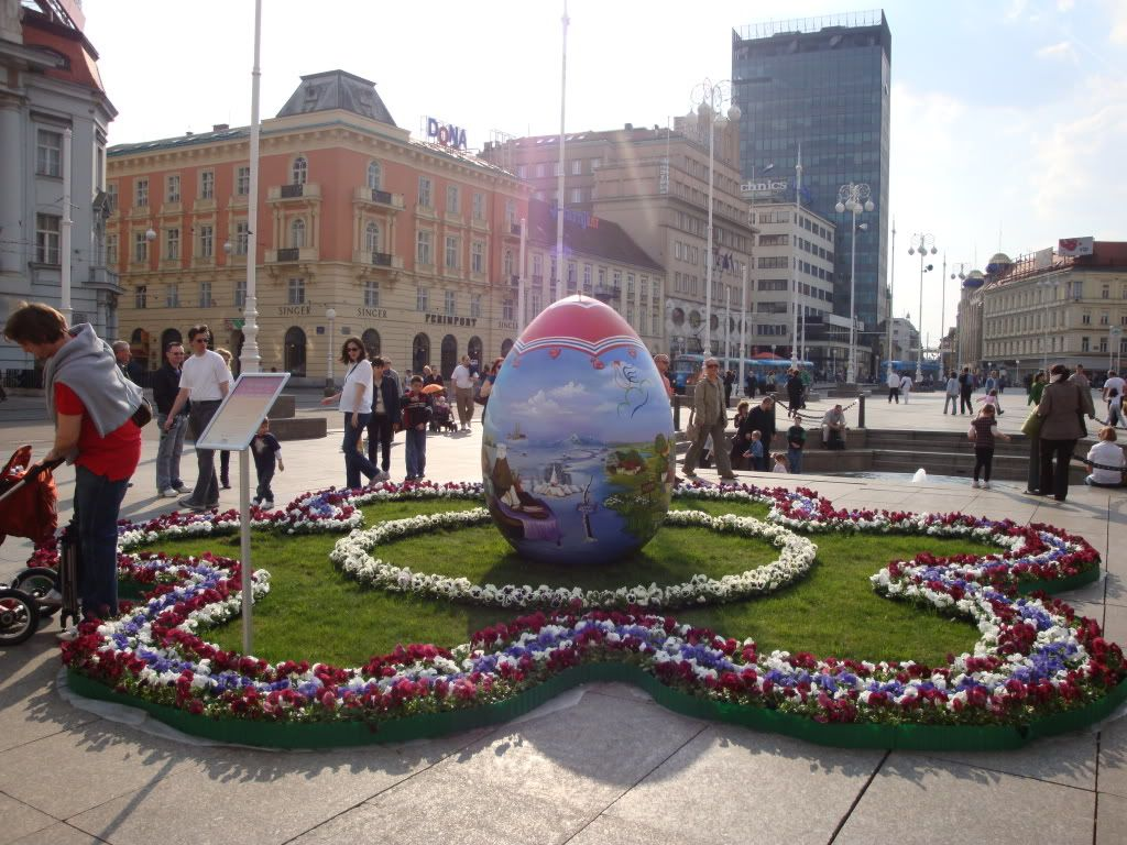 Croatia Easter As Dawn Of Life Zagreb Croatia Croatia Zagreb