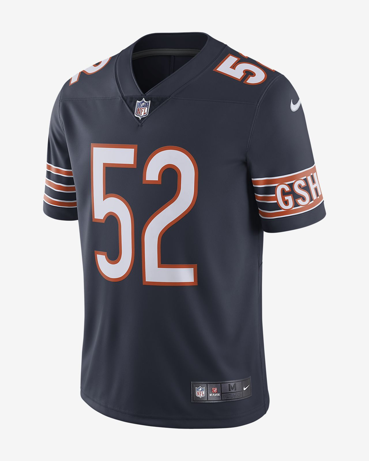 Nfl Chicago Bears Limited Khalil Mack Men S Football Jersey Nike Com Is The Perfect High Quality Nfl Superbowl Chicago Bears Nfl Chicago Bears Football Jerseys