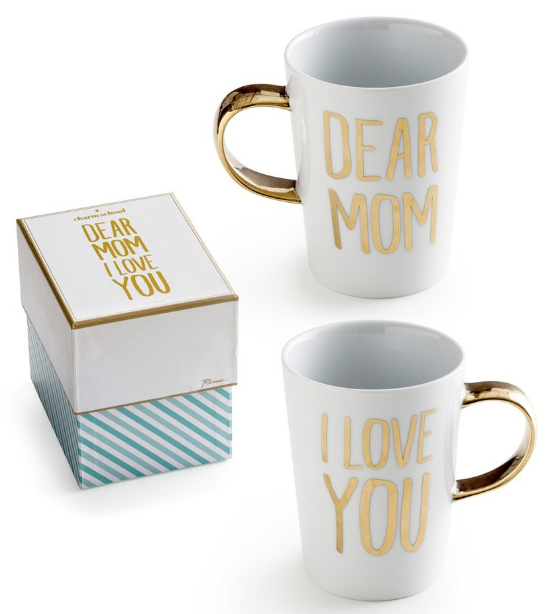 Dear Mom I Love You' Porcelain Coffee Mug