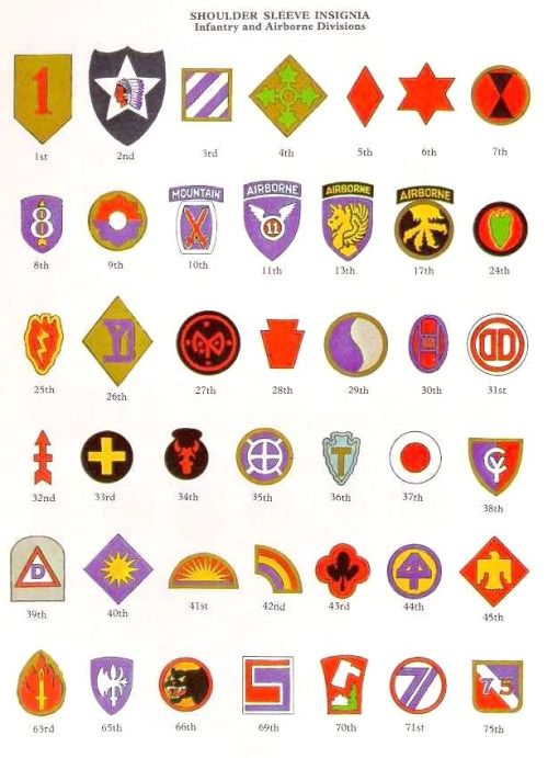 This Is A Simple Chart To Define The Various Army And Airborne