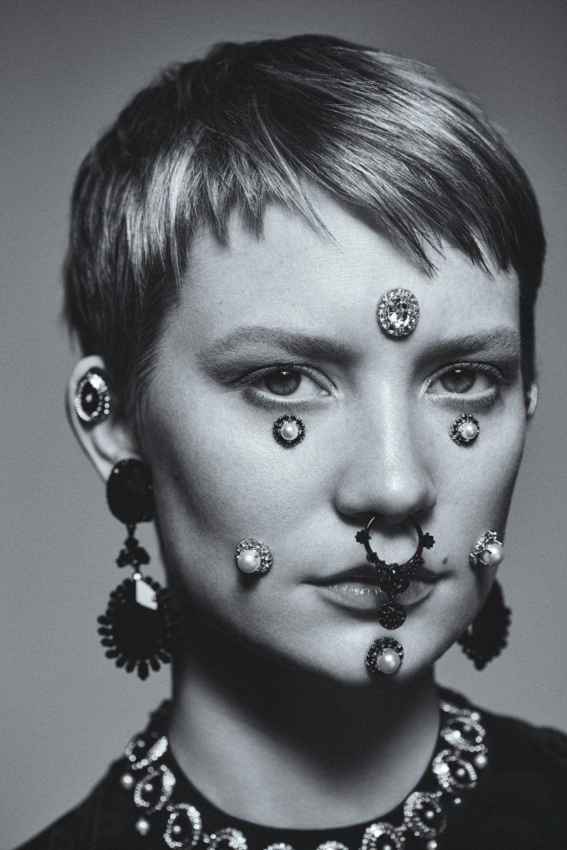 Mia Wasikowska  by Carlos Serrao (for FLAUNT, 2015)