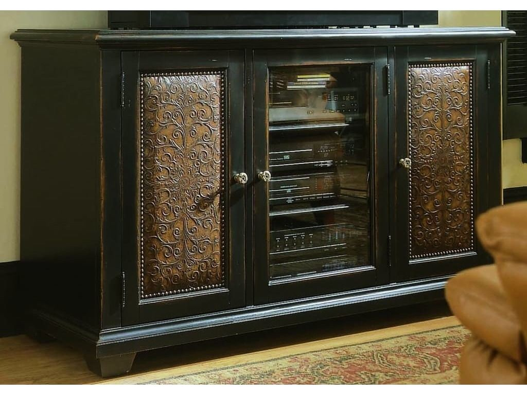 Hooker Furniture Telluride Black with Reddish Brown 60