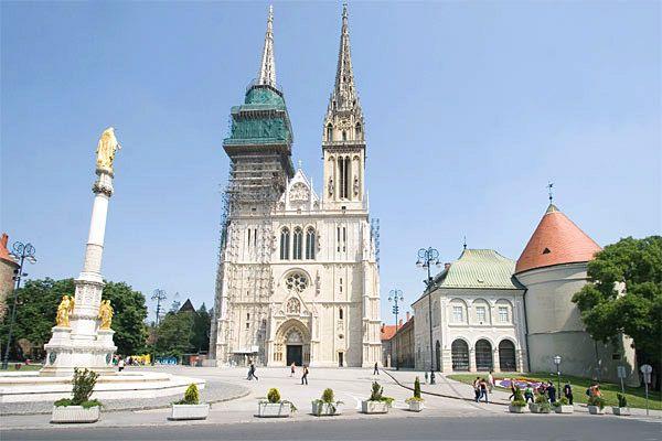 Zagreb Croatia Zagreb Croatia Slovenia Ljubljana