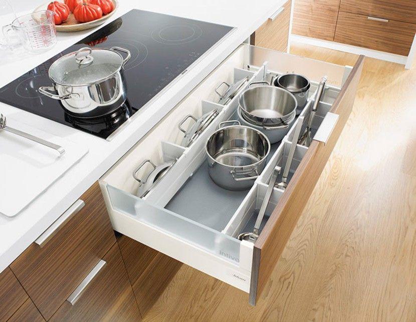 Pomocne szuflady w kuchni - organizacja i wygospodarowanie miejsca. Kitchen Drawer Organization Ideas | Cleo-inspire | Cleo-inspire