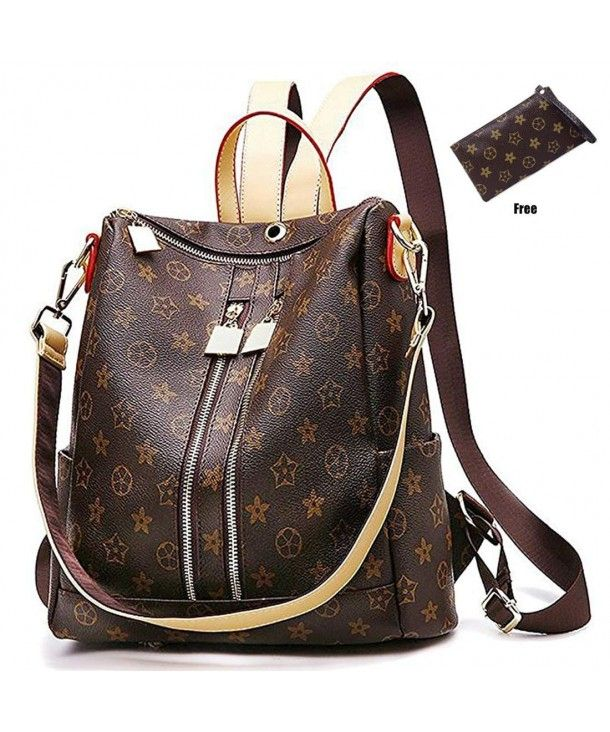 087360c765d1 Olyphy Designer Leather Backpack Purse for Women Fashion PU Shoulder Bag  Handba  fashion  clothing  shoes  accessories  wome…