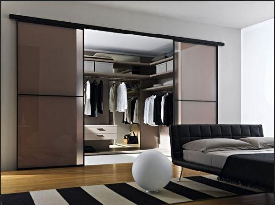 Risultati immagini per camera con cabina armadio a vista | Idee ...