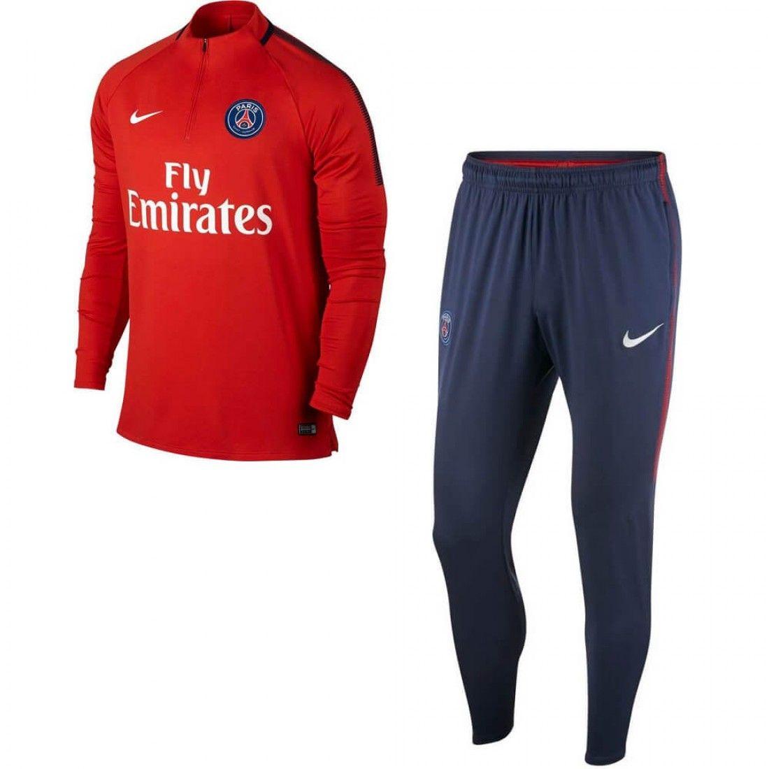 Nike Performance Paris Saint-Germain  Club Wear Bleu Fonc