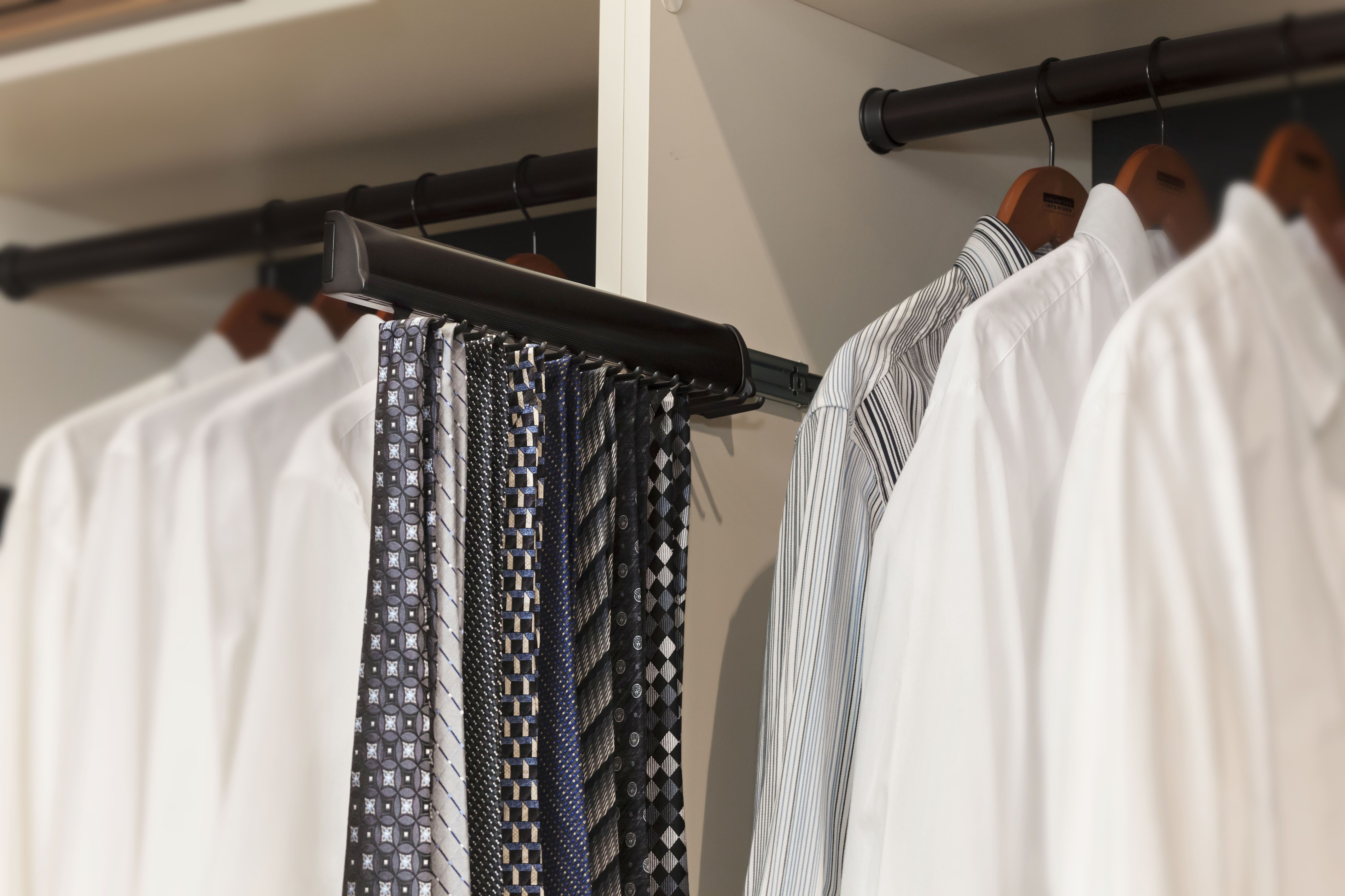 rack and charming electric tie shelving modern closet brown cabinet fancy endearing gorgeous paint for motorized closets wire alluring racks extraordinary stunning rotating mounted with wall plus walmart redoubtable inspirative design white