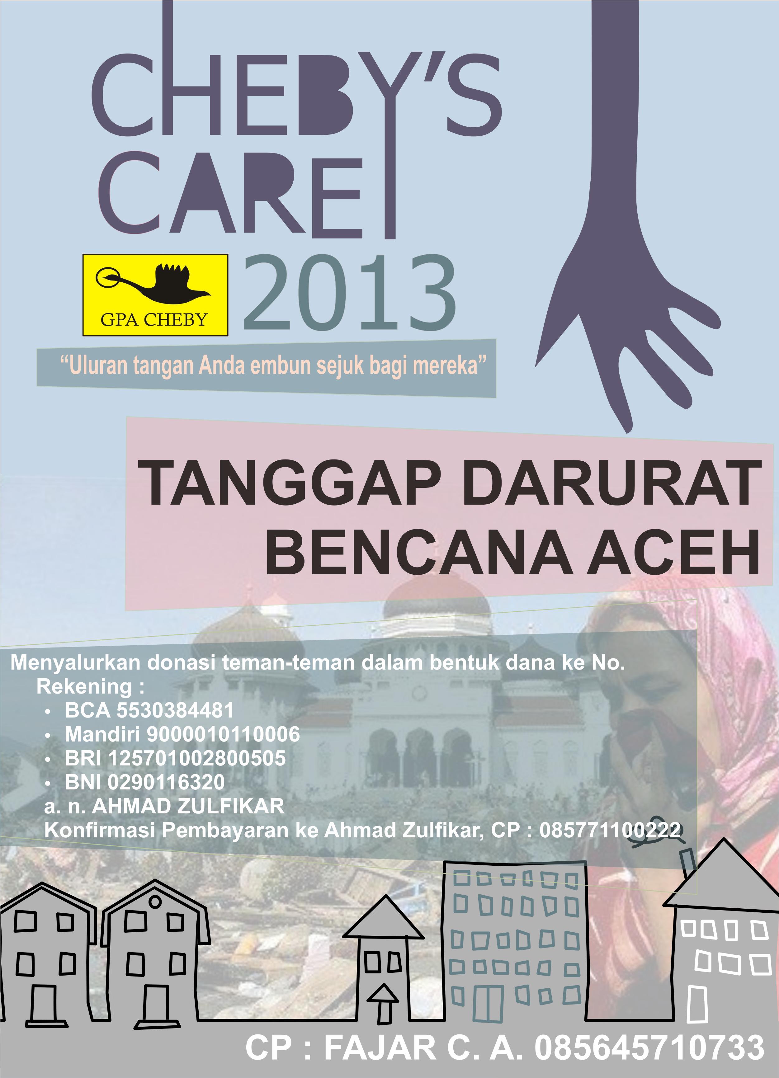 Poster Chebys Care Proker Cheby Tanggap Darurat Ketika Terjadi Bencana Saat Itu Di Aceh Sumbangan Disalurkan Ke Bmsi Pemandangan Abstrak Poster Pemandangan