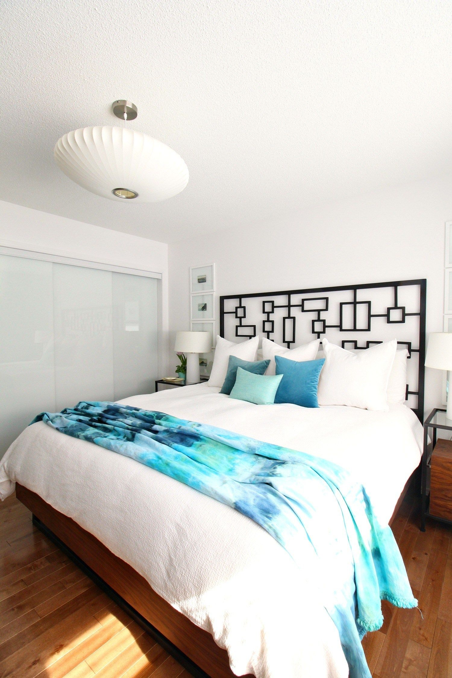 Simple Spring Home Tour Beach Bedroom Decor Diy Wall Decor For