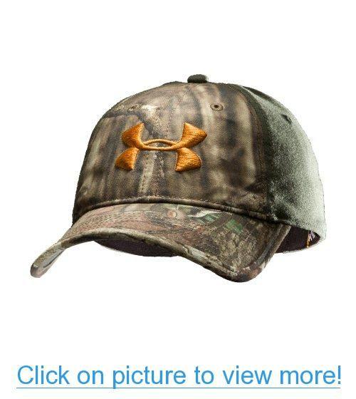 Men s UA Camo 2-Tone Stretch Fit Cap Headwear by Under Armour Combo Medium    Large Mossy Oak Break-Up Infinity cf603f83cea