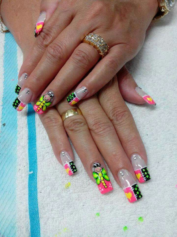 Mariposa Uñitas Pinterest Nails Nail Art Y Nail Designs